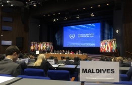 Maldives at 8th Session of the Assembly of State Parties to the Rome Statute of International Criminal Court (ICC). Maldives applied to ICC for the crime of ecocide to be added to the court's jurisdiction. PHOTO: MP AHMED SALEEM