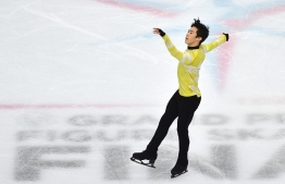 USA's Nathan Chen performs during the Men Free Skating program on December 7, 2019 at the ISU Grand Prix of figure skating Final 2019 in Turin. (Photo by Marco Bertorello / AFP)