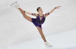 Russia's  Alena Kostornaia performs during the Ladies Free Skating program at the ISU Grand Prix of figure skating Final 2019 on December 7, 2019 in Turin. (Photo by MARCO BERTORELLO / AFP)