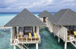 The gorgeous overwater villas provide a unique experience of your stay in the Maldives. PHOTO: HAWWA AMAANY ABDULLA / THE EDITION