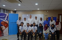 The first six participants of the apprenticeship programme launched by Manta Air and UNICEF. PHOTO: MANTA AIR
