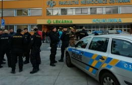 The gunman allegedly shot people at close range as they sat waiting in the trauma ward of the Faculty Hospital in Ostrava. PHOTO: CZECH POLICE / AFP / HO