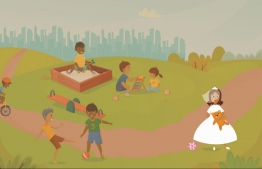 An illustration depicting how child brides are deprived of a proper childhood. PHOTO: THE EDITION