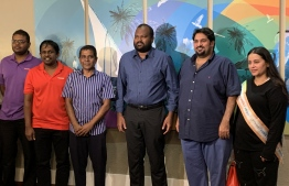 Maldives welcomes the first tourist of 2020. PHOTO: MIHAARU