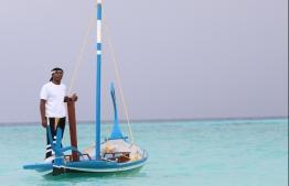 Summer Island Maldives' multi-talented Boat Captain Iqbal Mohamed. PHOTO: HAWWA AMANY ABDULLA / THE EDITION