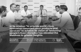 Ooredoo continues to persevere in its endeavours to accomplish its mission and vision for the Maldives. PHOTO: AHMED MAANIS / BRANDS OF MALDIVES