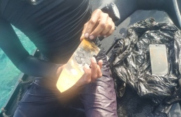 Evidence collected by MNDF divers in the vicinity of TTS Faana.