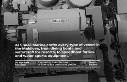 Al Shaali Marine crafts every type of vessel. PHOTO: AHMED MAANIS / BRANDS OF MALDIVES