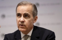 (FILES) In this file photo taken on December 16, 2019 Mark Carney, Governor of the Bank of England speaks during a Financial Stability Report press conference at the Bank of England. - Central banks may not be able to fight off a sharp economic downturn because their monetary policy arsenals are still depleted following the global financial crisis, outgoing Bank of England Governor Mark Carney has warned on January 8, 2020. (Photo by Kirsty Wigglesworth / POOL / AFP)