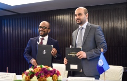 FINANCE MINISTRY FINANCE MINISTER IBRAHIM AMEER / OPEC LOAN SIGNING CEREMONY