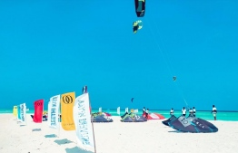 A photograph taken at the water sports festival 2020. PHOTO: KITE AND DIVE VILLAGE FENFUSHI