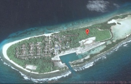 An aerial view of Maalhendhoo, Noonu Atoll. PHOTO: GOOGLE MAPS
