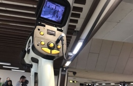 Thermal Camera. One of these cameras are installed at Velana International Airport (VIA) to screen for arrivals that may carry the deadly coronavirus which recently originated in China.