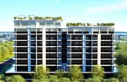 The Apollo Towers in Hulhumale'. PHOTO: APOLLO HOLDINGS