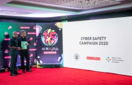 Ooredoo Maldives unveils it's 2020 Cyber Safety Campaign. PHOTO: OOREDOO MALDIVES