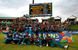 Bangladesh stunned four-time winners India in the final of the Under-19 World Cup. PHOTO: MICHELE SPATARI / AFP