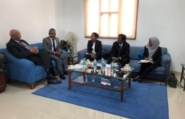 Representatives of Judicial Service Commission (JSC) meeting with officials from India's National Judicial Academy. PHOTO: JSC